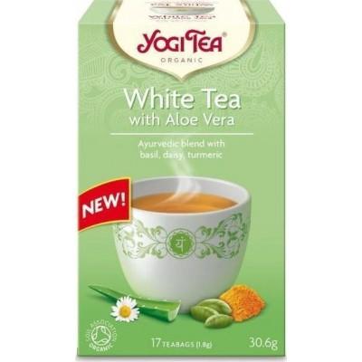 Yogi Tea White Tea Aloe Vera 17